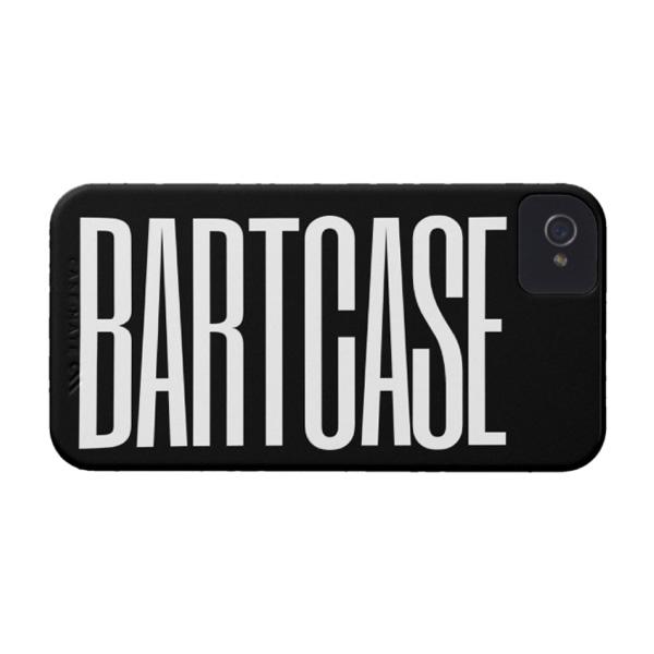 Чехол c именем/надписью для iPhone 4/4S от BartCase
