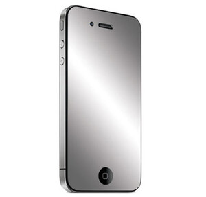 Купить Зеркальная защитная пленка для iPhone 4/4S