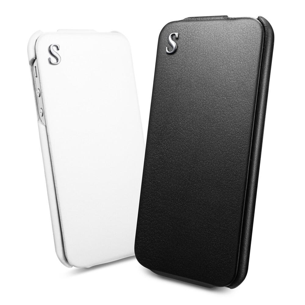 Кожаный флип-чехол SGP illuzion Legend для iPhone 5/5S/SE
