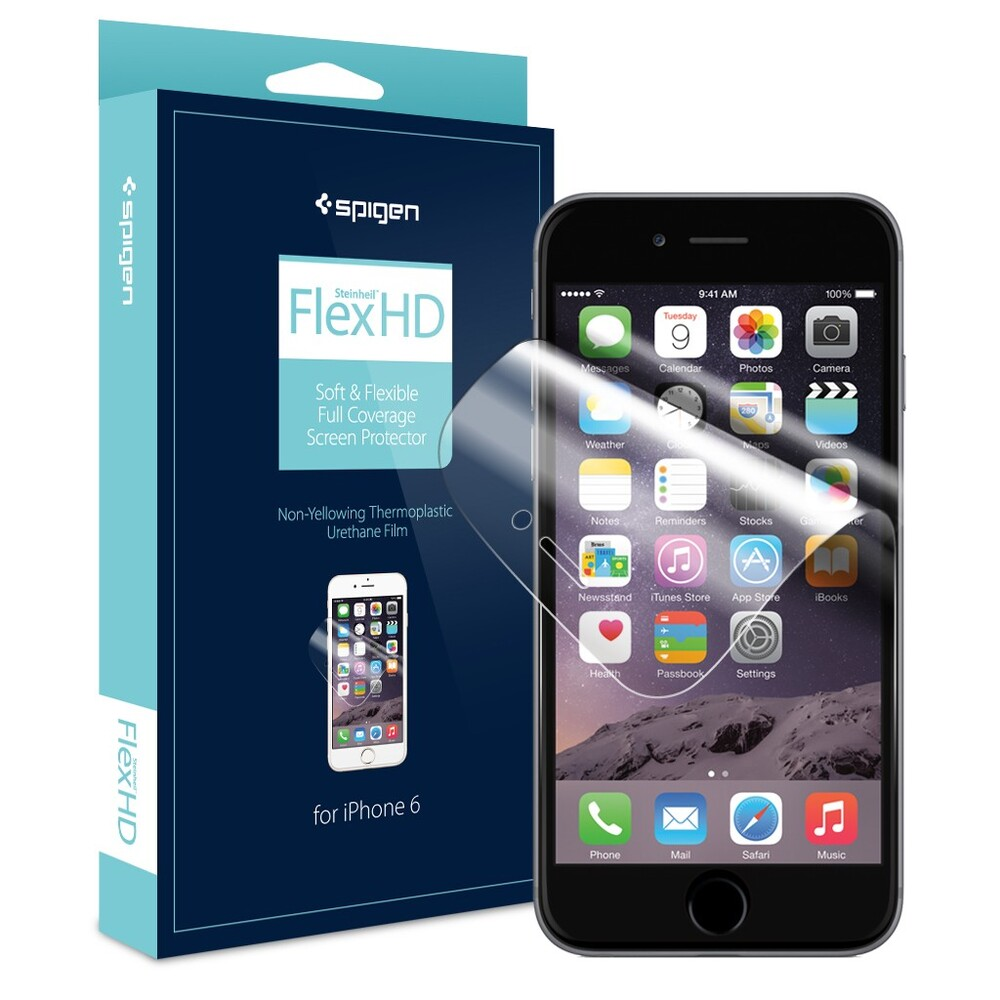 Защитная пленка Spigen Steinheil Flex HD для iPhone 6/6s Plus