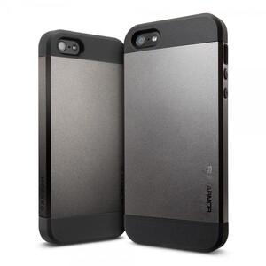 Чехол Spigen SGP Slim Armor Gunmetal OEM для iPhone 4/4S