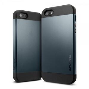 Купить Чехол Spigen SGP Slim Armor Navy Blue OEM для iPhone 4/4S