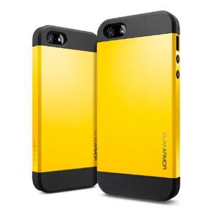 Купить Чехол Spigen SGP Slim Armor Yellow OEM для iPhone 4/4S