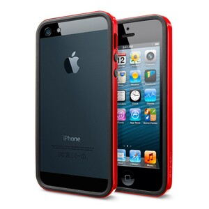 Купить Чехол SGP Neo Hybrid EX Vivid Red ОЕМ для iPhone 5/5S/SE