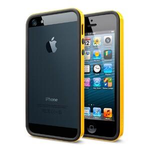 Купить Чехол SGP Neo Hybrid EX Vivid Yellow ОЕМ для iPhone 5/5S/SE