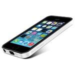 Чехол SGP Neo Hybrid EX Vivid White ОЕМ для iPhone 5/5S/SE
