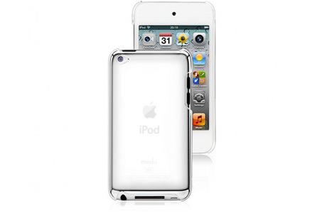 Прозрачная пластиковая накладка для iPod Touch 4G
