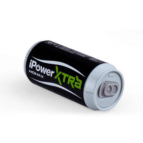 Черный внешний аккумулятор MOMAX iPower Xtra 6600mAh для iPhone | iPad | iPod | Mobile