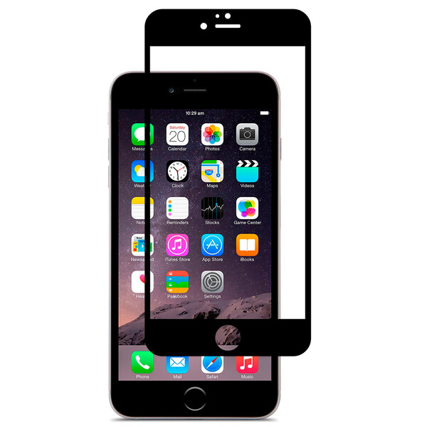 Защитная пленка Moshi iVisor AG Black для iPhone 6 Plus   6s Plus