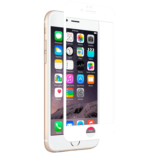 Защитное стекло Moshi iVisor Glass White для iPhone 6/6s Plus