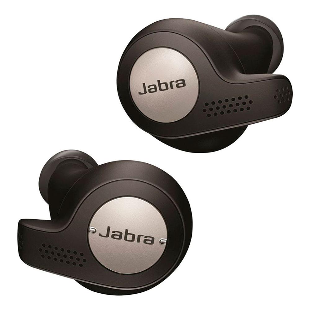Купить Беспроводные наушники Jabra Elite Active 65t Titanium Black с зарядным кейсом