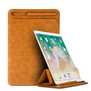 "Купить Кожаный чехол Jisoncase Leather Sleeve Brown для iPad Pro 10.5"""