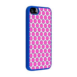 Купить Силиконовый чехол Juicy Couture Polka Dot для iPhone 5/5S/SE