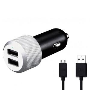 Купить Автозарядка Just Mobile Highway Max Deluxe с Micro USB кабелем