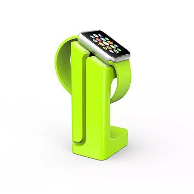 Док-станция KALAIXING E7 Зеленая для Apple Watch