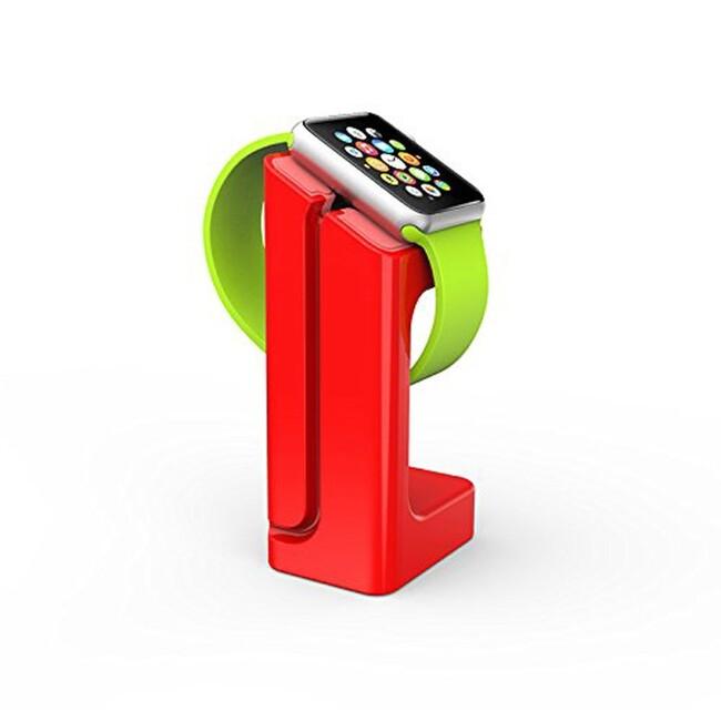 Док-станция KALAIXING E7 Красная для Apple Watch