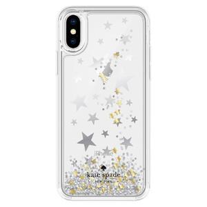 Купить Чехол Kate Spade Liquid Glitter Stars для iPhone X/XS
