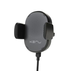 Купить Универсальный автодержатель с беспроводной зарядкой Kenu Airframe Wireless с креплением на решетку