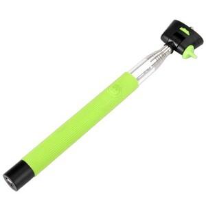 Купить Монопод-штатив (палка) для селфи KjStar Bluetooth Green