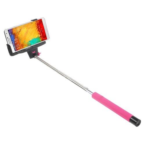 Монопод-штатив (палка) для селфи KjStar Bluetooth Pink