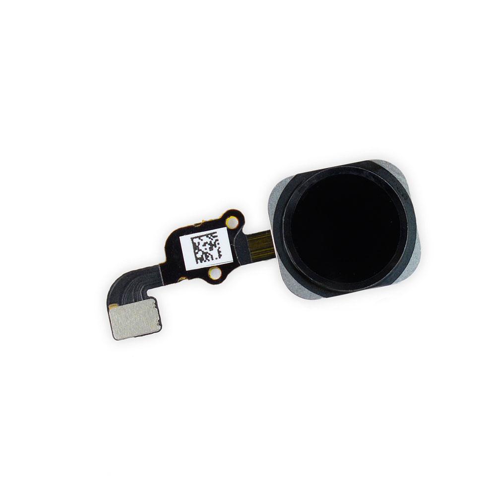 Купить Кнопка Home + шлейф (Black) для iPhone 6s Plus