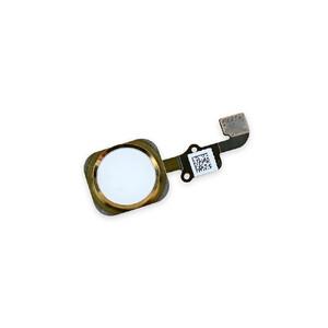 Купить Кнопка Home + шлейф (Gold) для iPhone 6/6 Plus