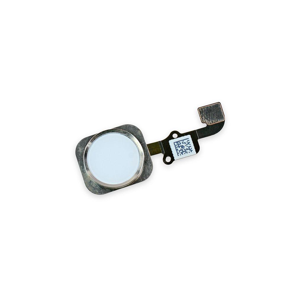 Купить Кнопка Home + шлейф (Silver) для iPhone 6 | 6 Plus