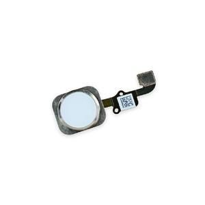 Купить Кнопка Home + шлейф (Silver) для iPhone 6/6 Plus