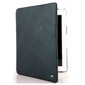 Купить ZENUS Leather Case with Stand 'Prestige' Pearl Lizard Series - Olive Green для iPad 4/3