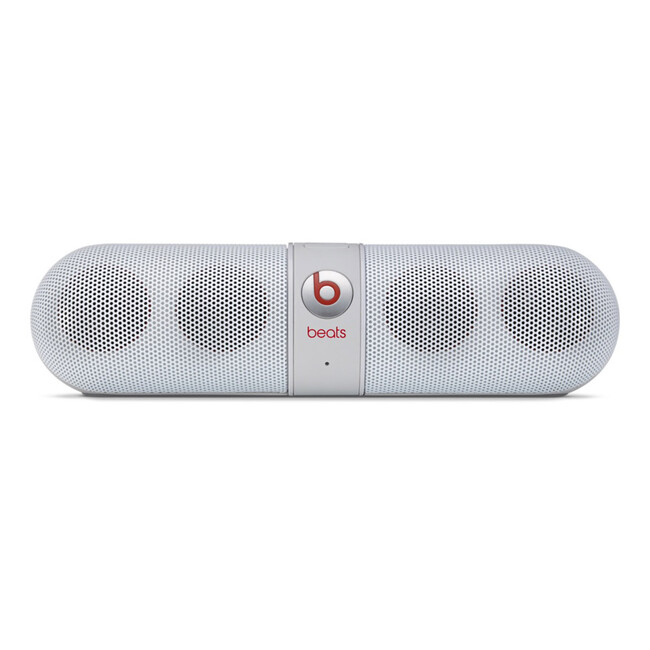 Белая колонка Beats Pill 2.0 by Dr. Dre