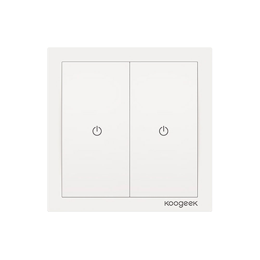 Купить Умный выключатель Koogeek Two Gang Smart Light Switch KH02CN