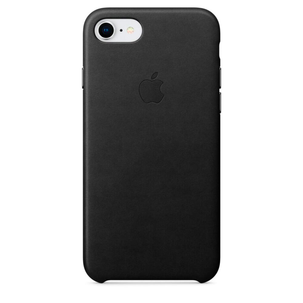 Кожаный чехол iLoungeMax Leather Case Black для iPhone SE 2020 | 7 | 8 OEM (MQH92)