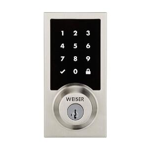 Купить Умный беспроводной замок Kwikset/Weiser Premis Touchscreen Smart Lock Satin Nickel