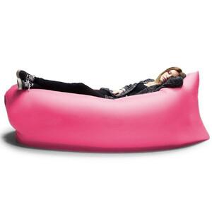 Надувной шезлонг (ламзак) BartCase Розовый
