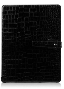 Купить ZENUS 'Prestige' Prima Croco - Black для iPad 4/3