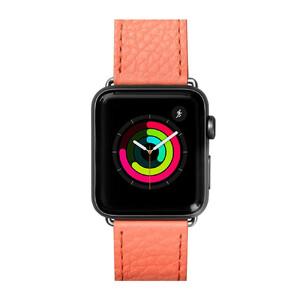 Купить Кожаный ремешок Laut Milano Coral для Apple Watch 44mm/42mm Series 5/4/3/2/1