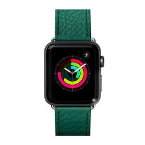 Купить Кожаный ремешок Laut Milano Emerald для Apple Watch 44mm/42mm Series 5/4/3/2/1