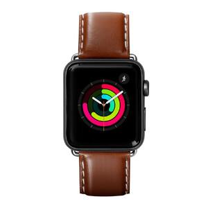 Купить Кожаный ремешок Laut Oxford Tobacco для Apple Watch 44mm/42mm Series 5/4/3/2/1