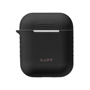 Купить Силиконовый чехол Laut Pod Black для Apple AirPods