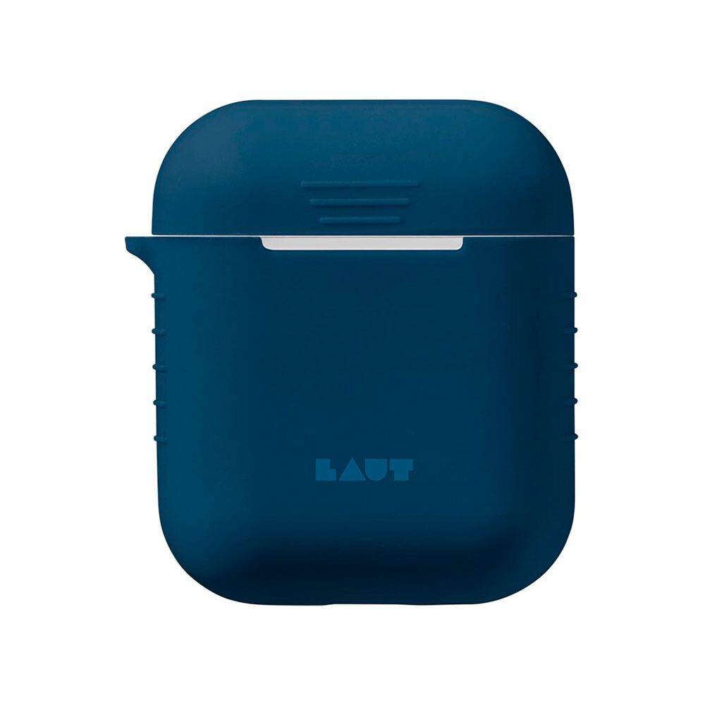 Силиконовый чехол Laut Pod Blue для Apple AirPods