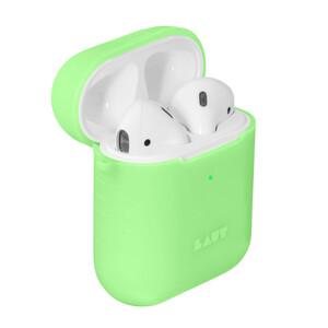 Купить Силиконовый чехол Laut POD NEON Acid Yellow для Apple AirPods