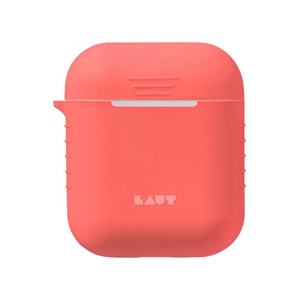 Силиконовый чехол Laut Pod Pink для Apple AirPods