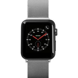 Купить Металлический ремешок Laut Steel Loop Silver для Apple Watch 42mm/44mm Series 5/4/3/2/1