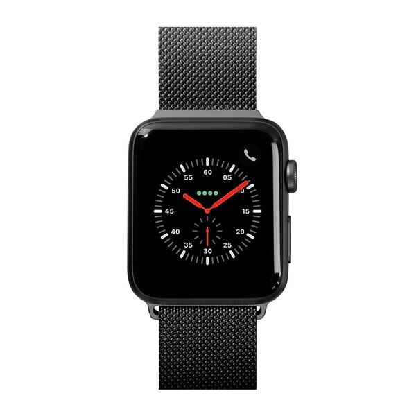 Металлический ремешок Laut Steel Loop Black для Apple Watch 40mm | 38mm SE | 6 | 5 | 4 | 3 | 2 | 1