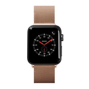 Купить Металлический ремешок Laut Steel Loop Gold для Apple Watch 38mm/40mm Series 1/2/3/4