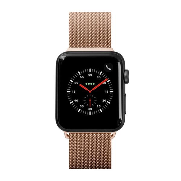 Металлический ремешок Laut Steel Loop Gold для Apple Watch 40mm | 38mm SE | 6 | 5 | 4 | 3 | 2 | 1