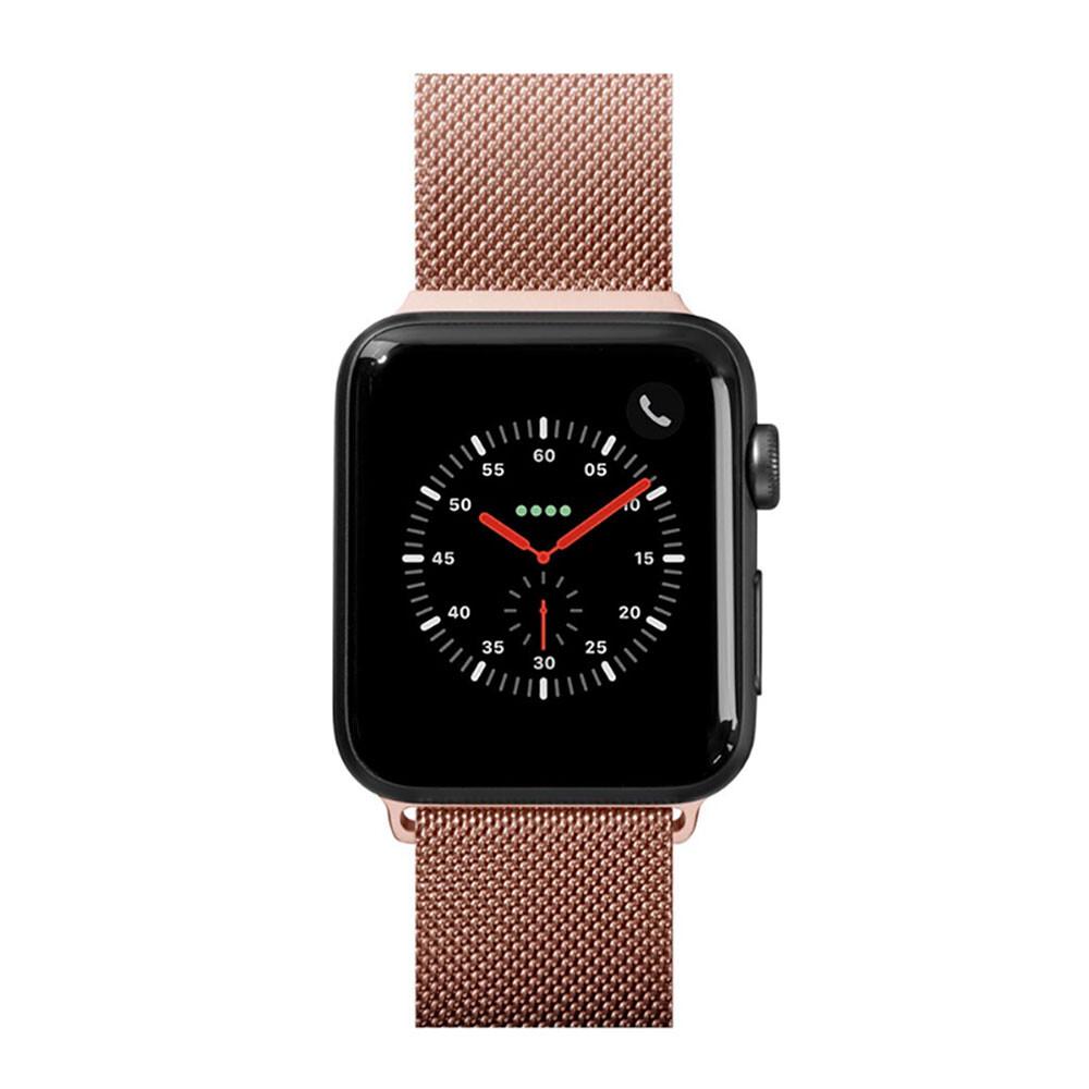 Металлический ремешок Laut Steel Loop Rose Gold для Apple Watch 38mm/40mm Series 1/2/3/4