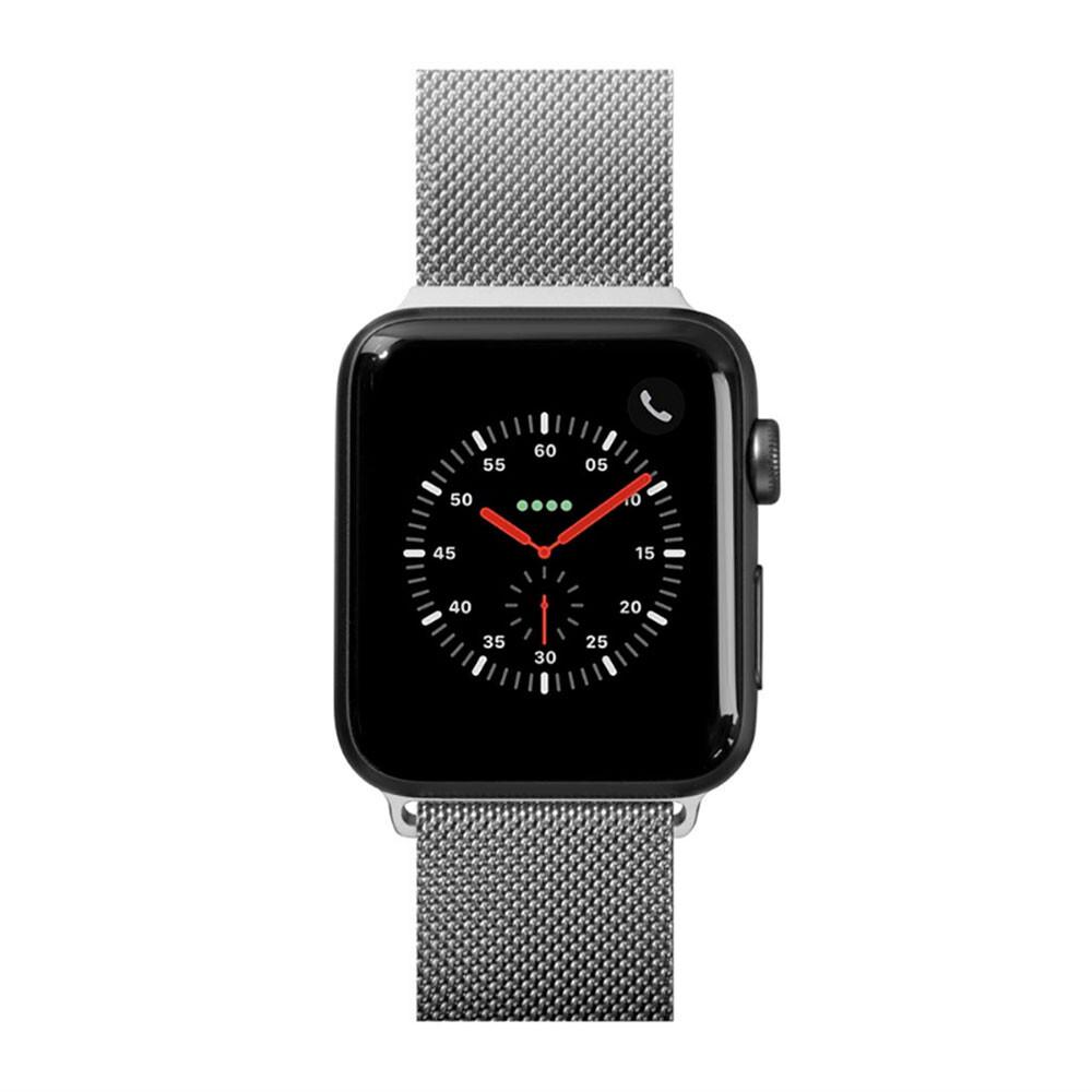 Металлический ремешок Laut Steel Loop Silver для Apple Watch 38mm/40mm Series 5/4/3/2/1