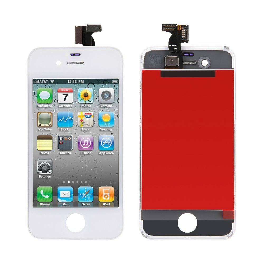 Купить Дисплей с тачскрином для iPhone 4S White (ААА-копия)