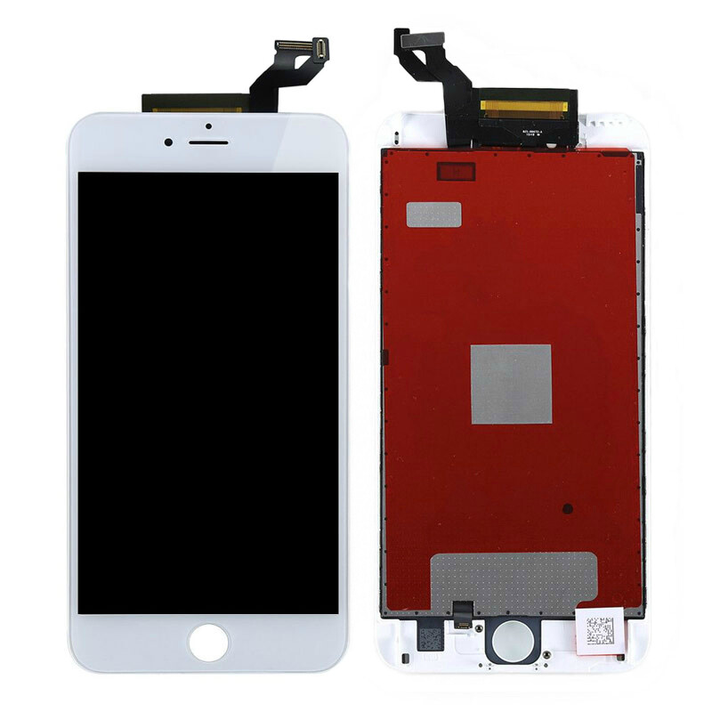 Белый LCD дисплей для iPhone 6s Plus